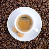 Fresh espresso Royalty Free Stock Photo
