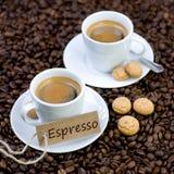 Fresh espresso Stock Image