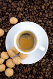 Fresh espresso Royalty Free Stock Photos