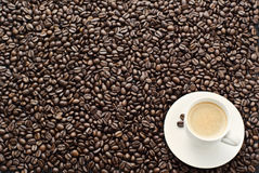 Fresh Espresso Royalty Free Stock Photography