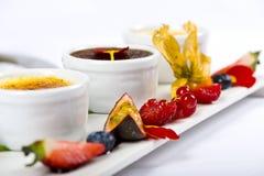 Fresh exotic fruit cake Royalty Free Stock Image