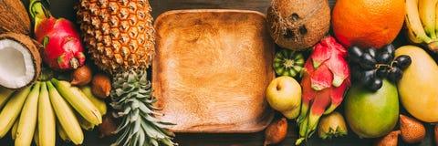 Fresh exotic fruit stock photography