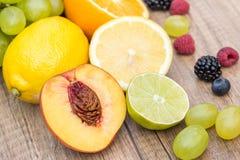 Fresh Exotic Fruits Stock Image