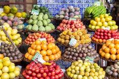 Fresh exotic fruits Stock Photo
