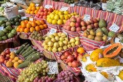 Fresh exotic fruits Royalty Free Stock Photos