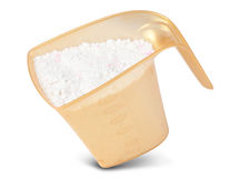 Fresh fabric washing powder. Washing powder for fresh and clean fabric Stock Photos