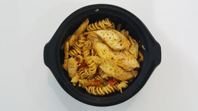 Fresh Fajita Pasta Royalty Free Stock Photos