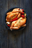 Fresh farm chicken. Royalty Free Stock Images