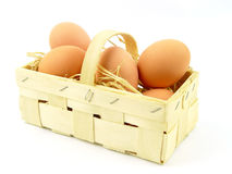 Fresh farm eggs Royalty Free Stock Photo