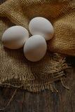 Fresh farm eggs Royalty Free Stock Photography