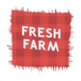 Fresh Farm Emblem Royalty Free Stock Photo