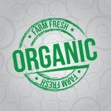 Fresh farm label Stock Images