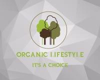 Fresh farm, organic product poster design. Retro Royalty Free Stock Images