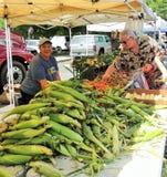 Fresh farmer's market corn