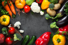 Fresh farmer vegetables. royalty free stock image