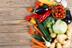 Fresh farmers market vegetables Stock Photos