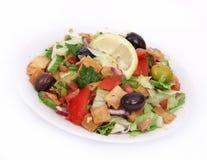 Fresh fatoush salad Royalty Free Stock Photography