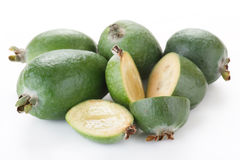 Fresh feijoa Stock Image