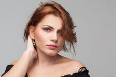 Fresh female beauty. Romantic mood Stock Images