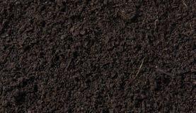 Fresh fertile soil as background shot close-up. Fresh fertile soil as background stock images