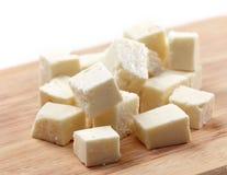 Fresh feta cheese Royalty Free Stock Images