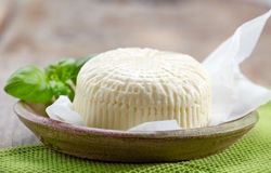Fresh feta cheese Royalty Free Stock Photos