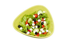 Fresh feta salad Royalty Free Stock Image