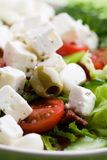 Fresh feta salad Stock Photo