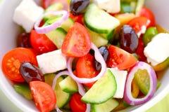 Fresh Feta salad Royalty Free Stock Image