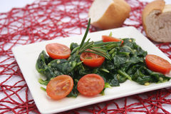 Fresh field salad Royalty Free Stock Image