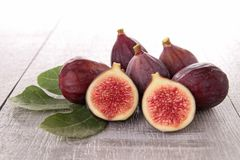 Fresh fig Stock Image