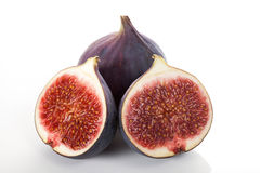 Fresh fig composition Stock Photos