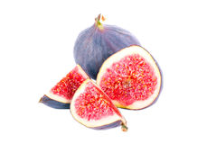 Fresh fig fruit cut Royalty Free Stock Image
