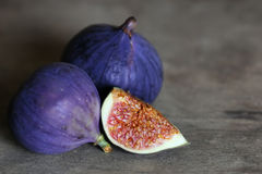 Fresh fig fruit Stock Photos