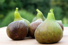 Fresh fig fruits. After harvest at full maturity royalty free stock photo