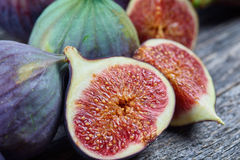 Fresh fig fruits Stock Photography