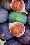 Fresh fig fruits stock photos