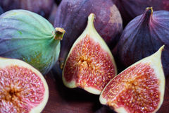 Fresh fig fruits stock images