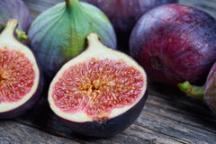 Fresh fig fruits royalty free stock images