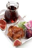 Fresh Fig Jam Stock Photo
