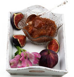 Fresh Fig Jam Royalty Free Stock Photos