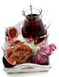 Fresh Fig Jam Royalty Free Stock Images