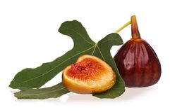 Fresh fig Royalty Free Stock Photos