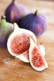 Fresh fig Royalty Free Stock Images