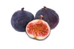 Fresh figs. Isolated on white background Stock Image