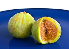 Green figs Stock Photos