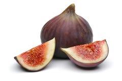 Fresh figs. On white stock image