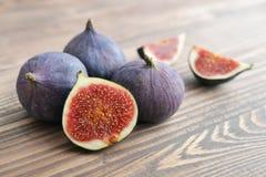 Fresh figs closeup Royalty Free Stock Image