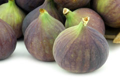 Fresh figs (Ficus carica) Royalty Free Stock Photography