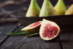 Fresh figs Royalty Free Stock Image